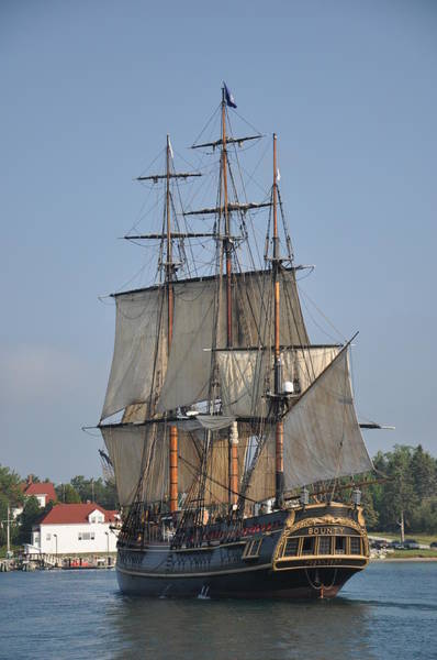Photograph - Tall Ship 1 by Larry Peterson