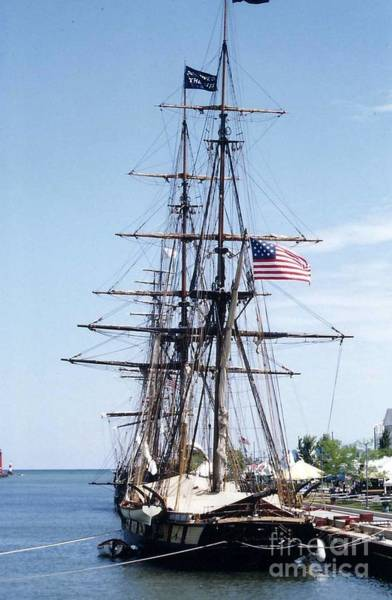 Wall Art - Photograph - Tall Ship by Kay Novy