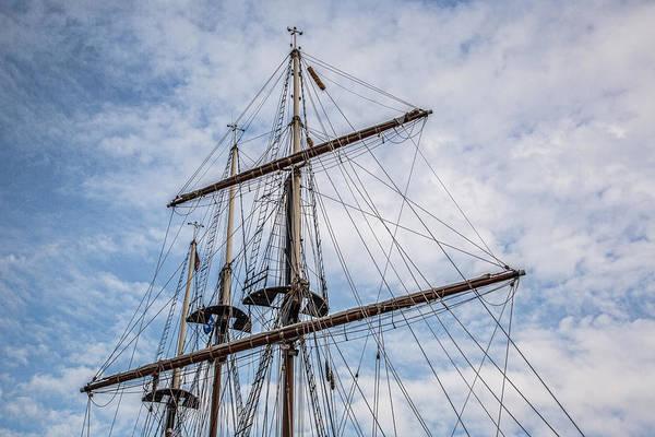 Photograph - Tall Ship Masts by Dale Kincaid