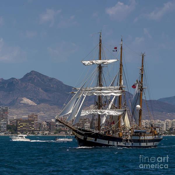 Photograph - Tall Ship Palinuro by Pablo Avanzini