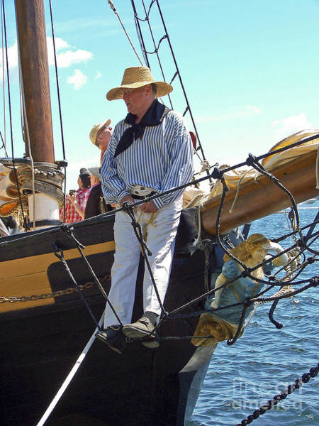 Photograph - Tall Ship Sailor by Tom Doud