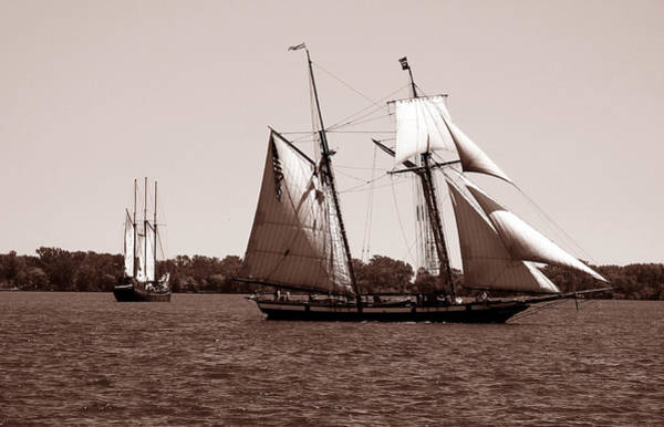 Photograph - Tall Ships 3 by Andrew Fare