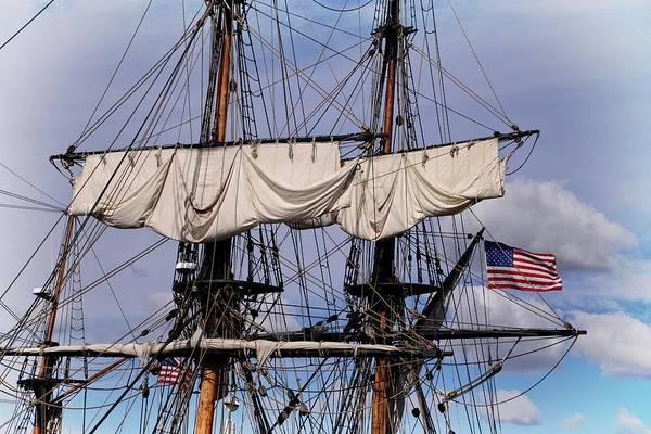 Photograph - Tall Ship's Mast by Lynn Bauer