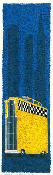 Wall Art - Photograph - Tall Taxi by MGL Meiklejohn Graphics Licensing
