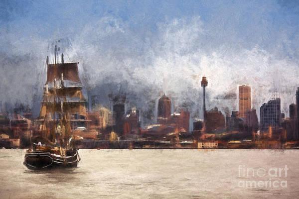 Wall Art - Photograph - Tallship On Sydney Harbour by Sheila Smart Fine Art Photography