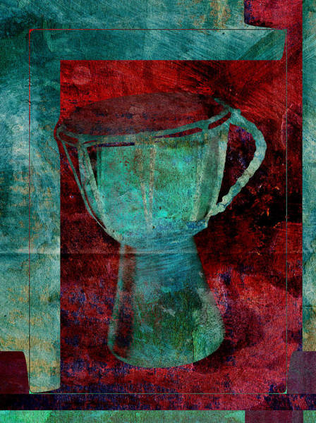 Djembe Wall Art - Digital Art - Tam Tam Djembe - S22c by Variance Collections