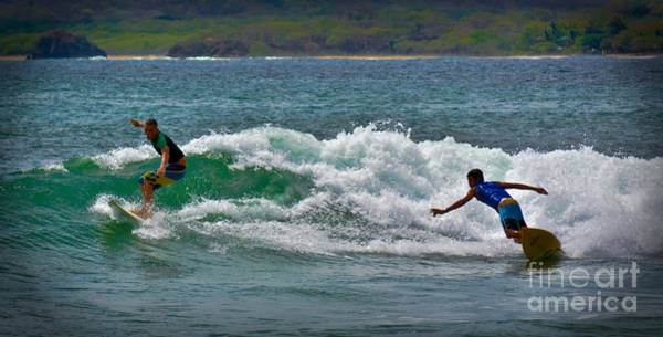 Photograph - Tamarindo Surfing by Gary Keesler