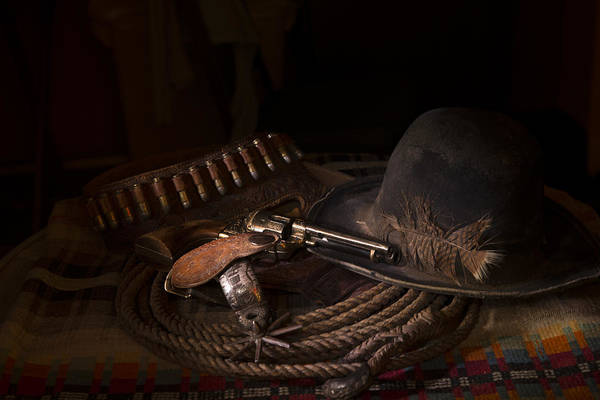 Blye Photograph - Taming The Old West by Kenneth Blye