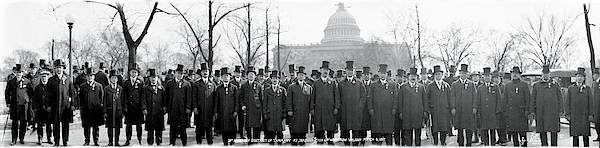 Democratic Party Photograph - Tammany Democrats Washington Dc by Fred Schutz Collection