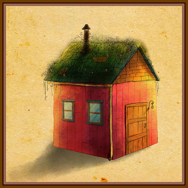 Painting - Tammy's Shed by Reynold Jay