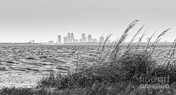 Inlet Photograph - Tampa Across The Bay by Marvin Spates