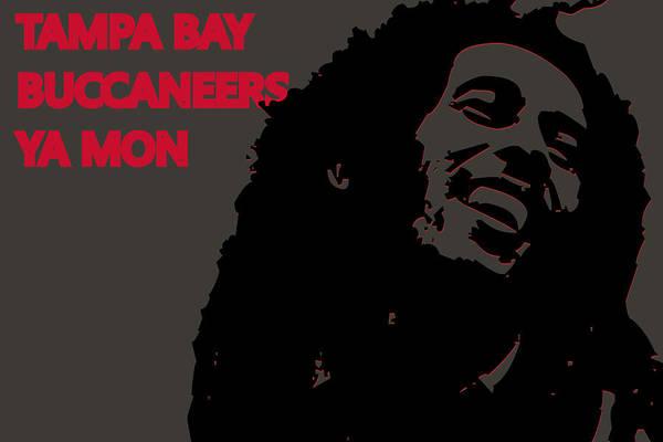 Drum Player Wall Art - Photograph - Tampa Bay Buccaneers Ya Mon by Joe Hamilton