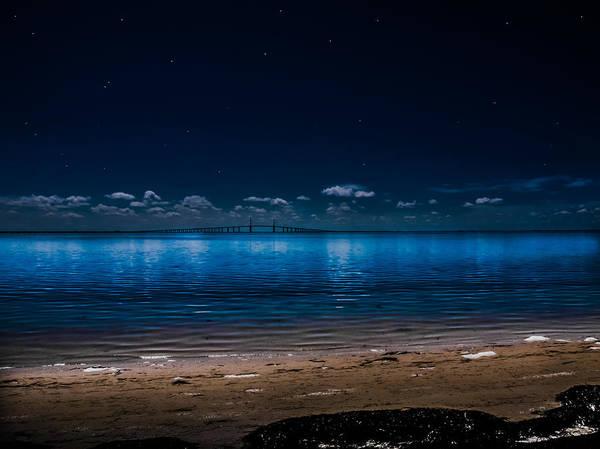 Photograph - Tampa Bay Nights by Randy Sylvia