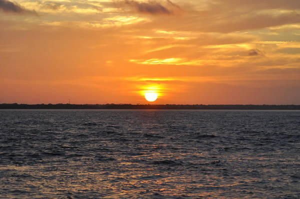 Tampa Digital Art - Tampa Bay Sunrise by Bill Cannon