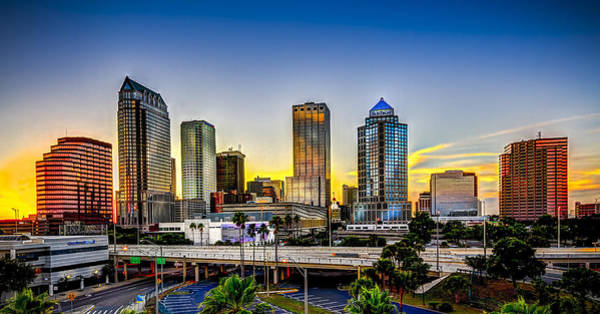Wall Art - Photograph - Tampa Skyline by Marvin Spates
