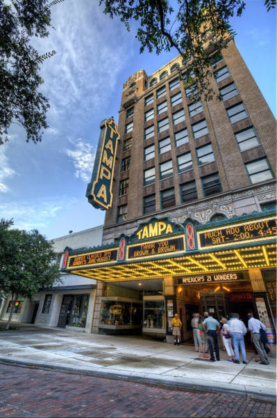 Cigar Photograph - Tampa Theater 2 by Al Hurley