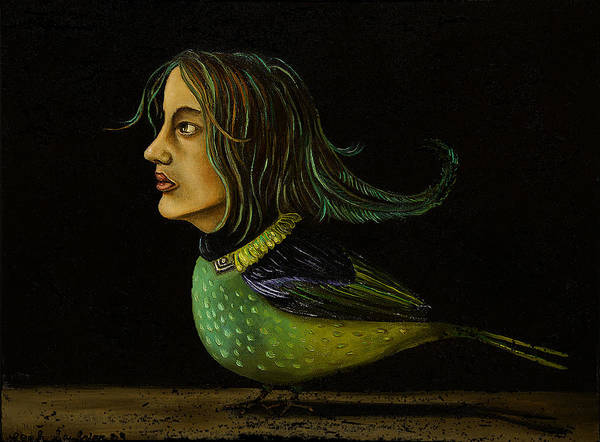 Wall Art - Painting - Tanager  by Leah Saulnier The Painting Maniac