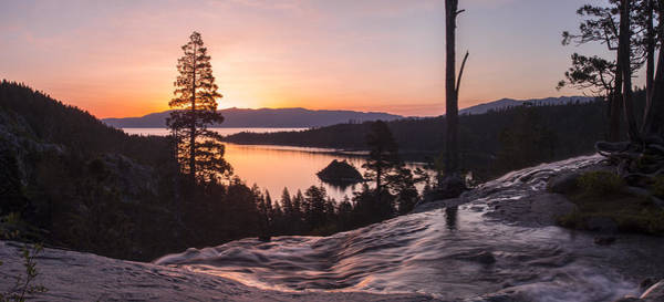 Emerald Bay Photograph - Tangerine Sunrise by Brad Scott