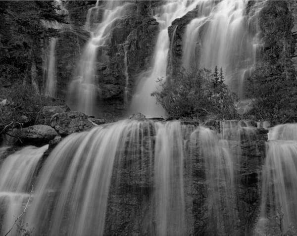 Photograph - 1m3706-bw-tangle Falls  by Ed  Cooper Photography