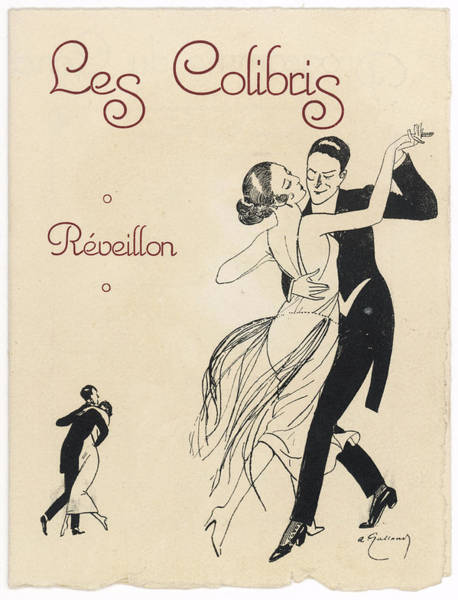 Tango Drawing - Tango          Date Circa 1915 by Mary Evans Picture Library