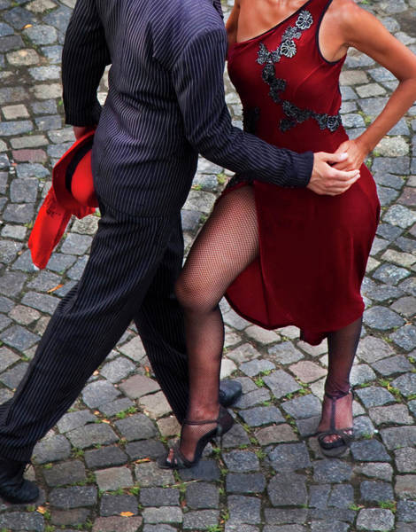 Hip Photograph - Tango Dancers by Grant Faint