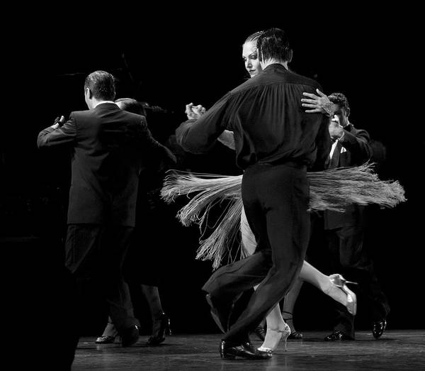 Wall Art - Photograph - Tango In Black And White by Alice Gipson