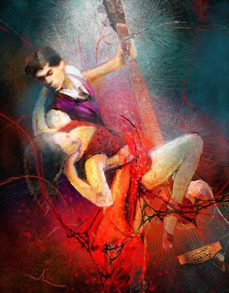 Painting - Tangoscape 07 by Miki De Goodaboom
