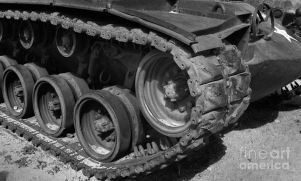 Artillery Brigade Photograph - Tank-m48 by David Millenheft