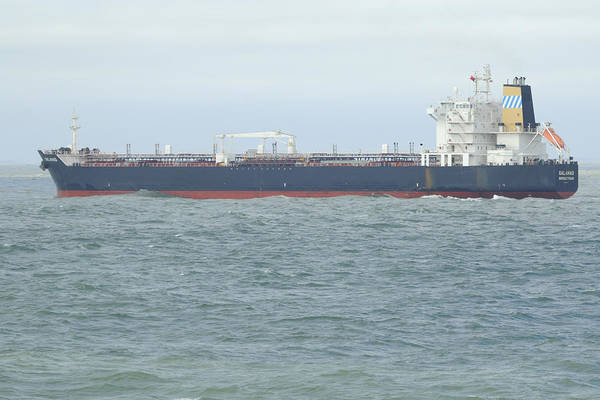 Photograph - Tanker Offshore by Bradford Martin