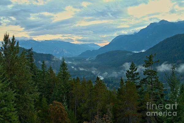 Photograph - Tantalus Mountain Afternoon Landscape by Adam Jewell