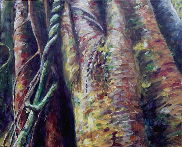 Painting - Tanzanian Trees by Susan Moore