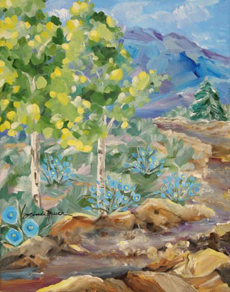 Painting - Taos Arroyo by Linda Rauch
