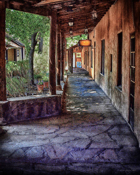 Photograph - Taos Pathway by Wayne Wood