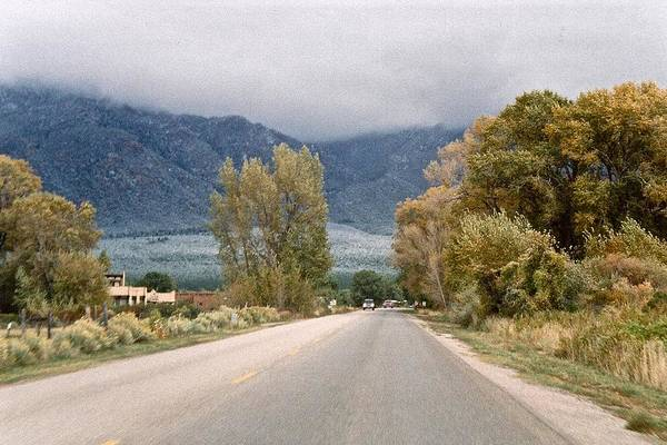 Photograph - Taos Road by Ricardo J Ruiz de Porras