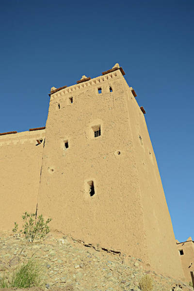 Casbah Photograph - Taourirt Kasbah, Tower by Paolo Negri