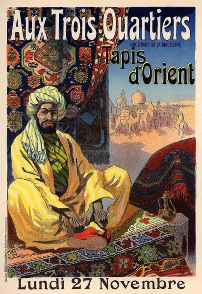 Belle Epoque Photograph - Tapis D'orient by Gianfranco Weiss