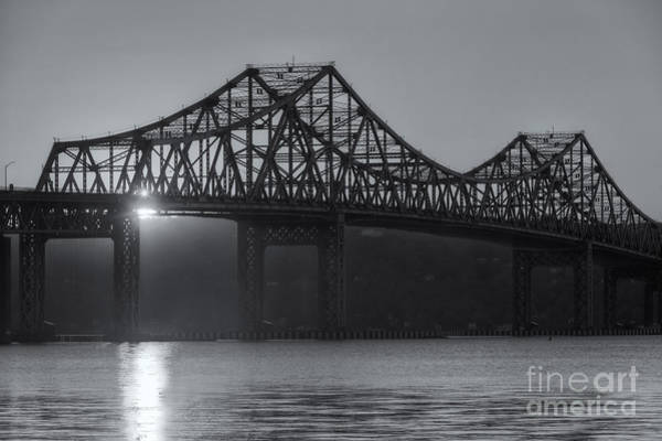 Photograph - Tappan Zee Bridge At Sunset II by Clarence Holmes