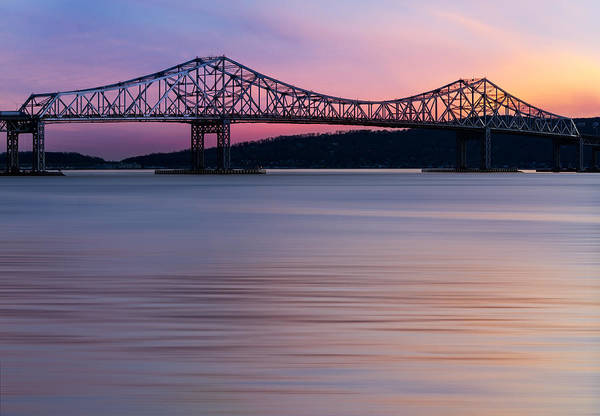 Photograph - Tappan Zee Bridge Sunset by Susan Candelario