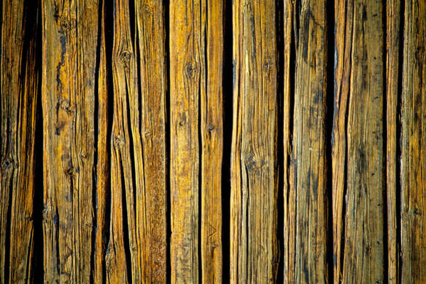 Tc Photograph - Tar-treated Wooden Wall by Hakon Soreide