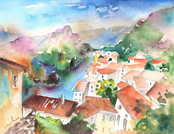 Pyrenees Painting - Tarascon Sur Ariege 02 by Miki De Goodaboom