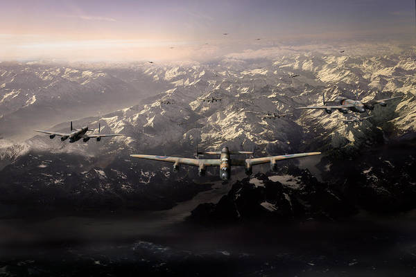 Digital Art - Target Tirpitz In Sight by Gary Eason