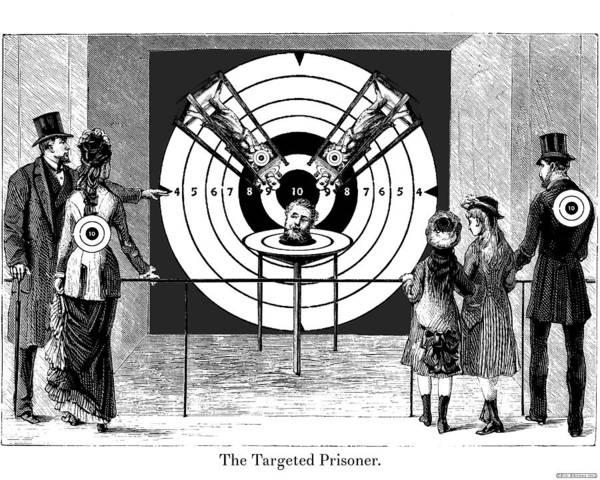 Digital Art - Targeted Prisoner by Eric Edelman
