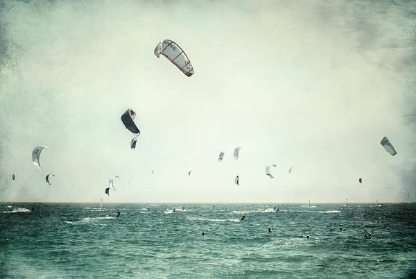 Kite Photograph - Tarifa Beach by Guido Montanes Castillo