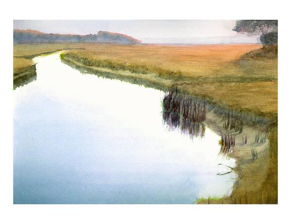 Painting - Tarpon Creek by Peter Senesac