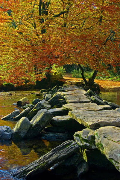 Photograph - Tarr Steps In Somerset by Pete Hemington