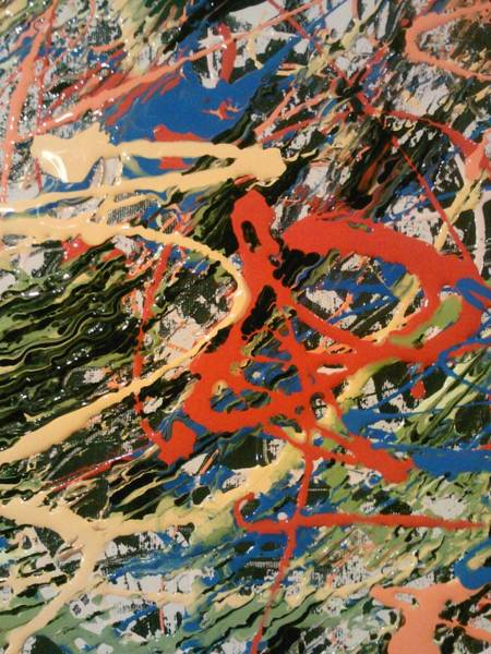 Painting - Taste Of Pollock by Ray Khalife