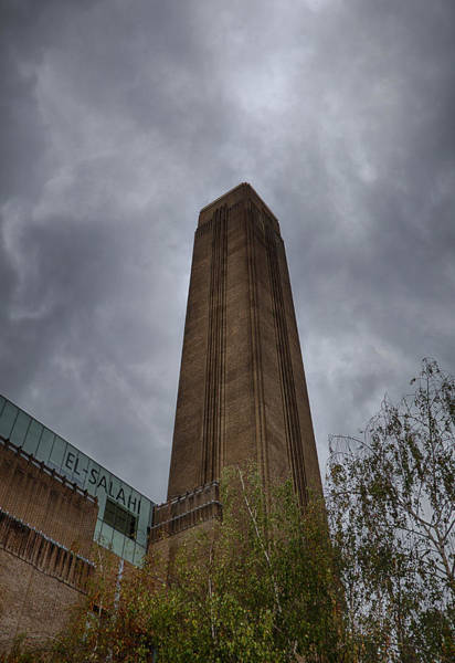Power Station Wall Art - Photograph - Tate Modern Stack by Nigel Jones