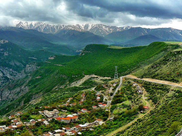 Ropeway Photograph - Tatever Ropeway - Armenia by S Abramian