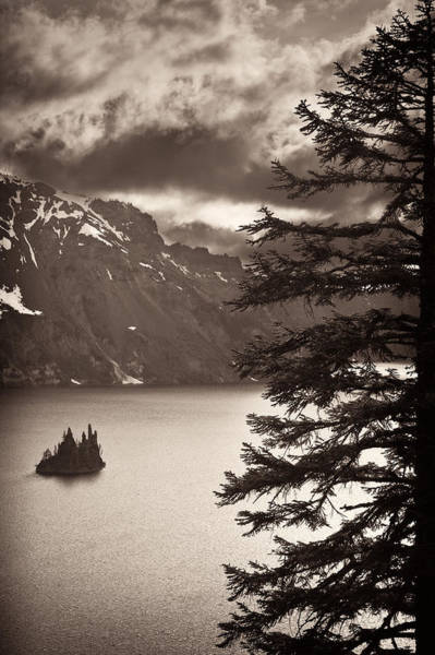 Crater Lake Np Photograph - Tattered Sails by Don Hall
