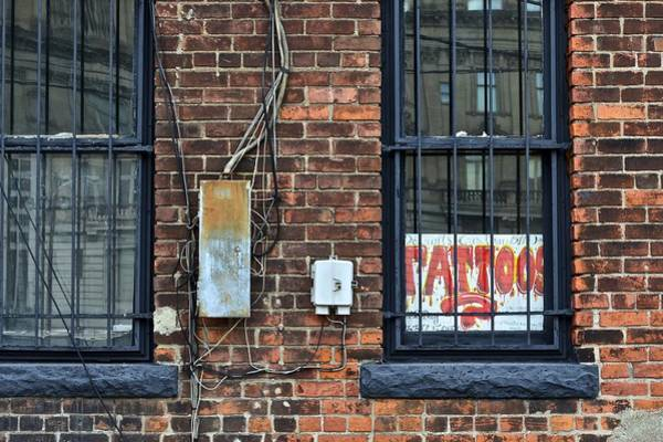 Tats Wall Art - Photograph - Tattoos by Frozen in Time Fine Art Photography